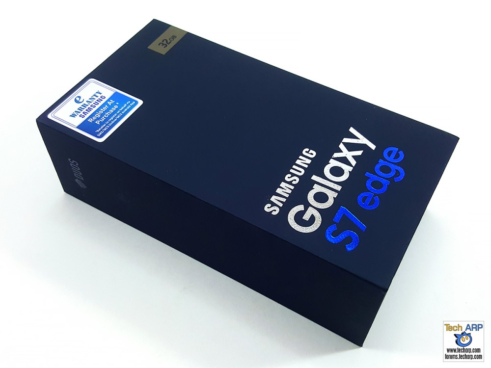 Samsung Galaxy S7 edge box