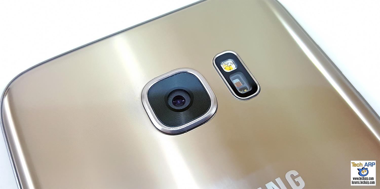 Samsung Galaxy S7 edge rear camera