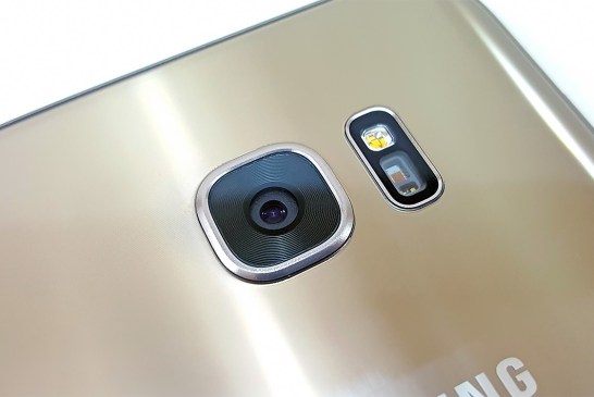 Samsung Galaxy S7 edge rear camera