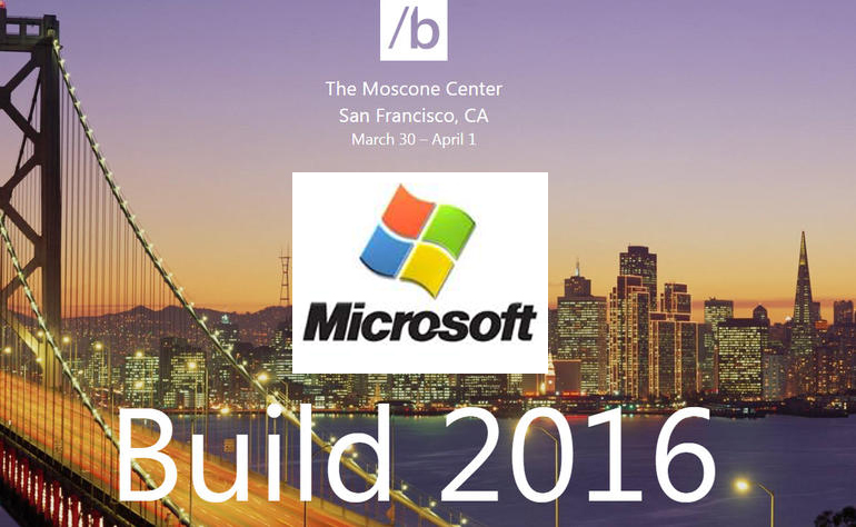 Microsoft News From Build 2016