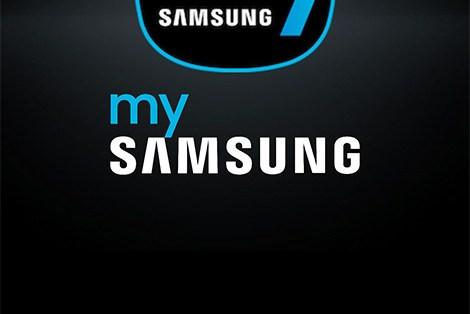 mySamsung Homebase App