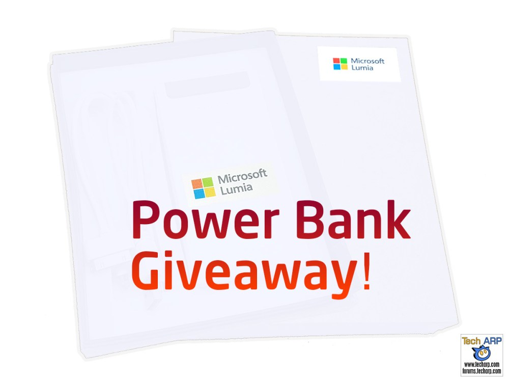 Tech ARP 2016 Power Bank Giveaway! #1