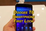 Doogee T6 Smartphone Revealed