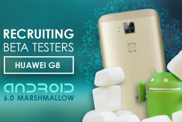 Huawei G8 Android Marshmallow Beta