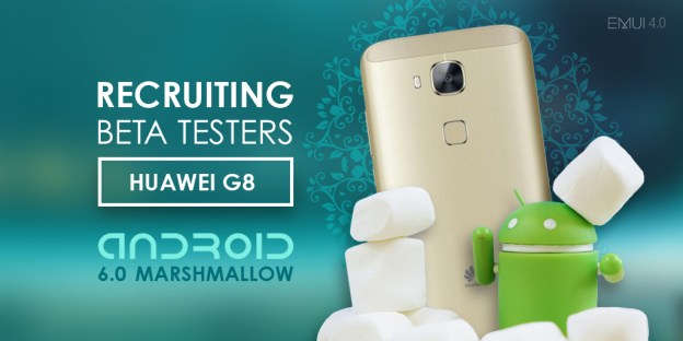 Huawei G8 Android Marshmallow