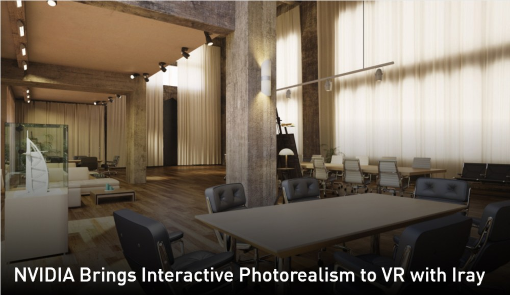 NVIDIA Iray VR Introduces Interactive Photorealism