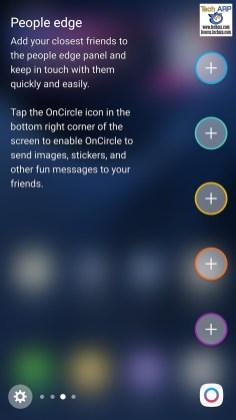 Samsung Galaxy S7 edge functionality
