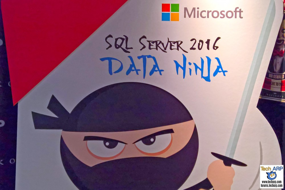 Becoming A Data Ninja With Microsoft SQL Server 2016