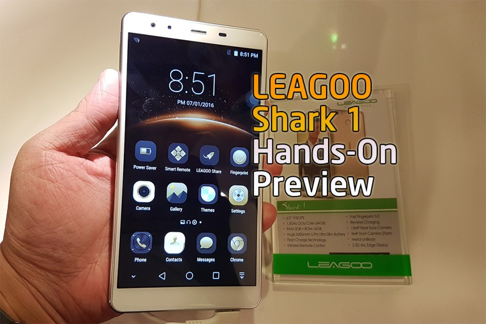 LEAGOO Shark 1 Hands-On Preview