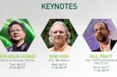 NVIDIA, IBM and Toyota Keynotes For GTC 2016