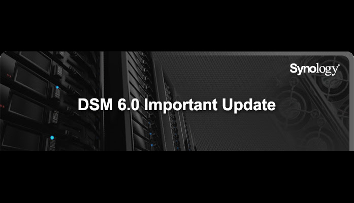 Synology DSM 6.0 Update Now Available