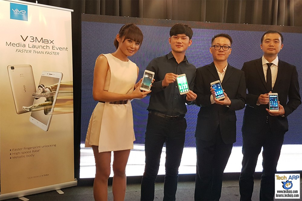 vivo V3Max Smartphone Launch