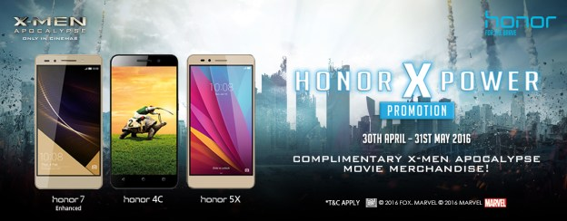 Join honor X Power To Win Prizes Worth Up To RM3 mil