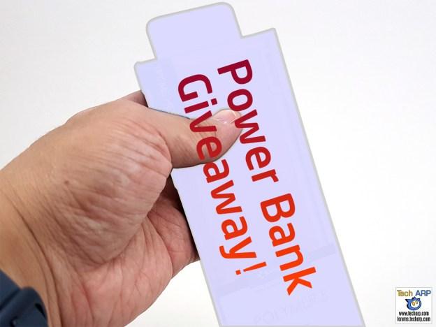 Tech ARP 2016 Power Bank Giveaway #3