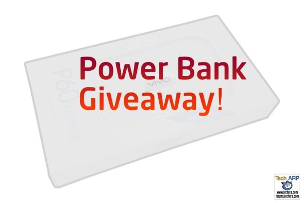 Tech ARP 2016 Power Bank Giveaway #4