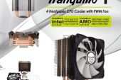 GELID Rev. 4 Tranquillo CPU Cooler Launched