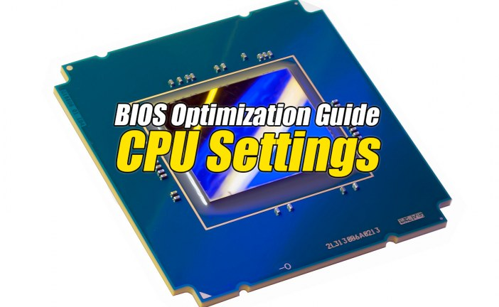 CPU Adjacent Sector Prefetch – BIOS Optimization Guide