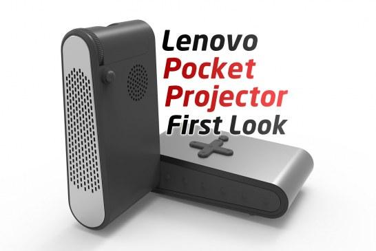 Lenovo Pocket Projector First Look