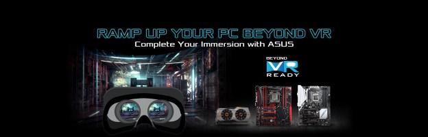 ASUS Beyond VR Ready Program Announced