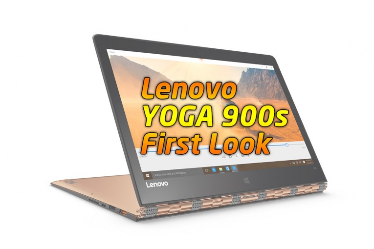 Lenovo YOGA 900s First Look