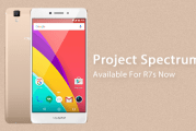 Project Spectrum Available For OPPO R7s Now