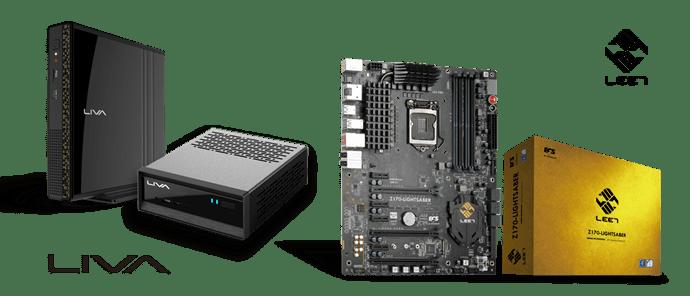 ECS launches Z170-LIGHTSABER & LIVA mini PC @ 2016 Computex