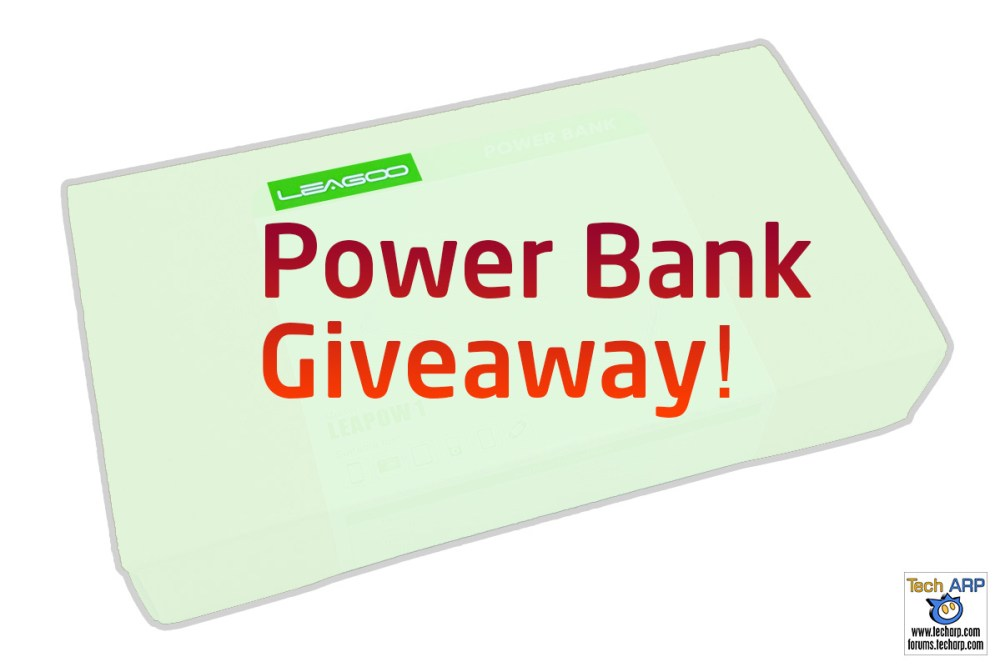 Tech ARP 2016 Power Bank Giveaway #5