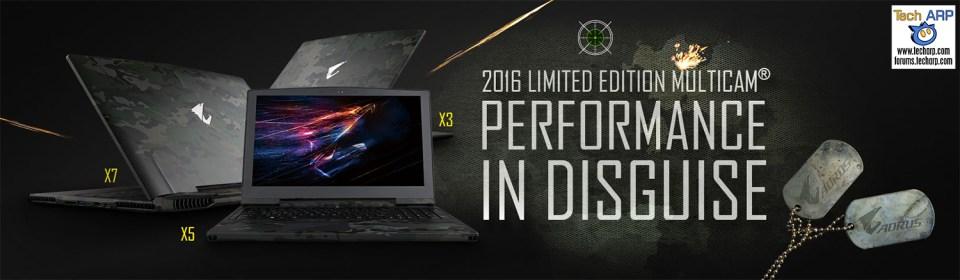 AORUS Computex 2016 Tech Overview - AORUS 2016 MultiCam Design