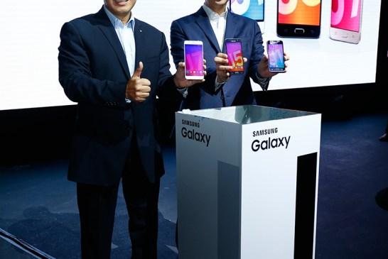 Samsung Reveals 2016 Galaxy J Series Smartphones