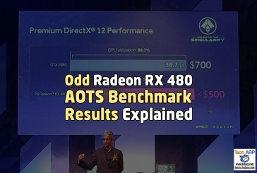 Odd Radeon RX 480 AOTS Benchmark Results Explained