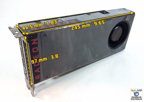 AMD Radeon RX 480 Size