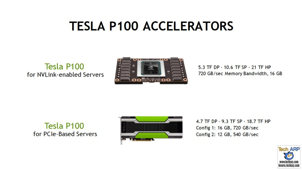 NVIDIA Tesla P100 For PCIe-Based Servers Revealed