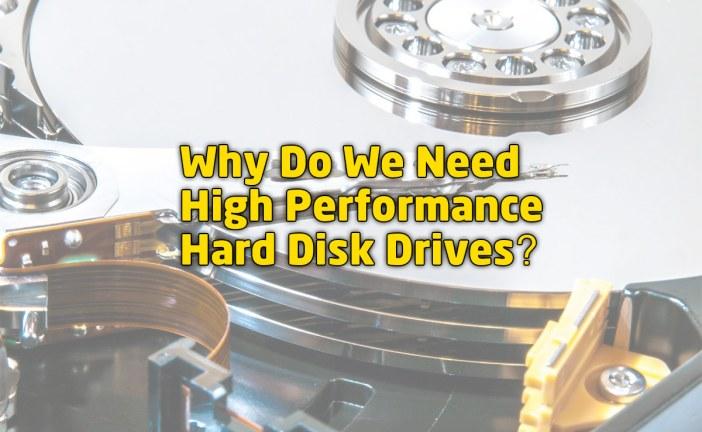 High Performance PCs Need High Performance Drives
