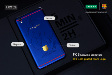 OPPO FC Barcelona Edition On Charity Auction
