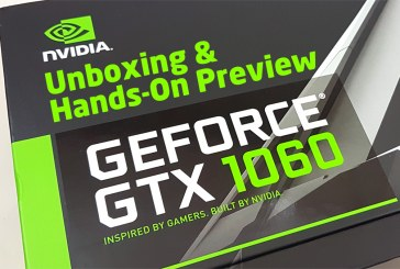 NVIDIA GeForce GTX 1060 Unboxing & Hands-On Preview