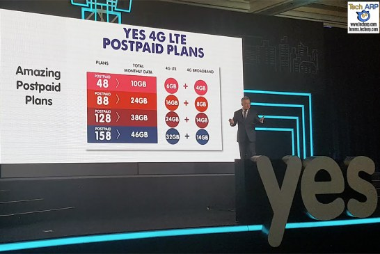 Yes 4G LTE Prepaid & Postpaid Plans Revealed