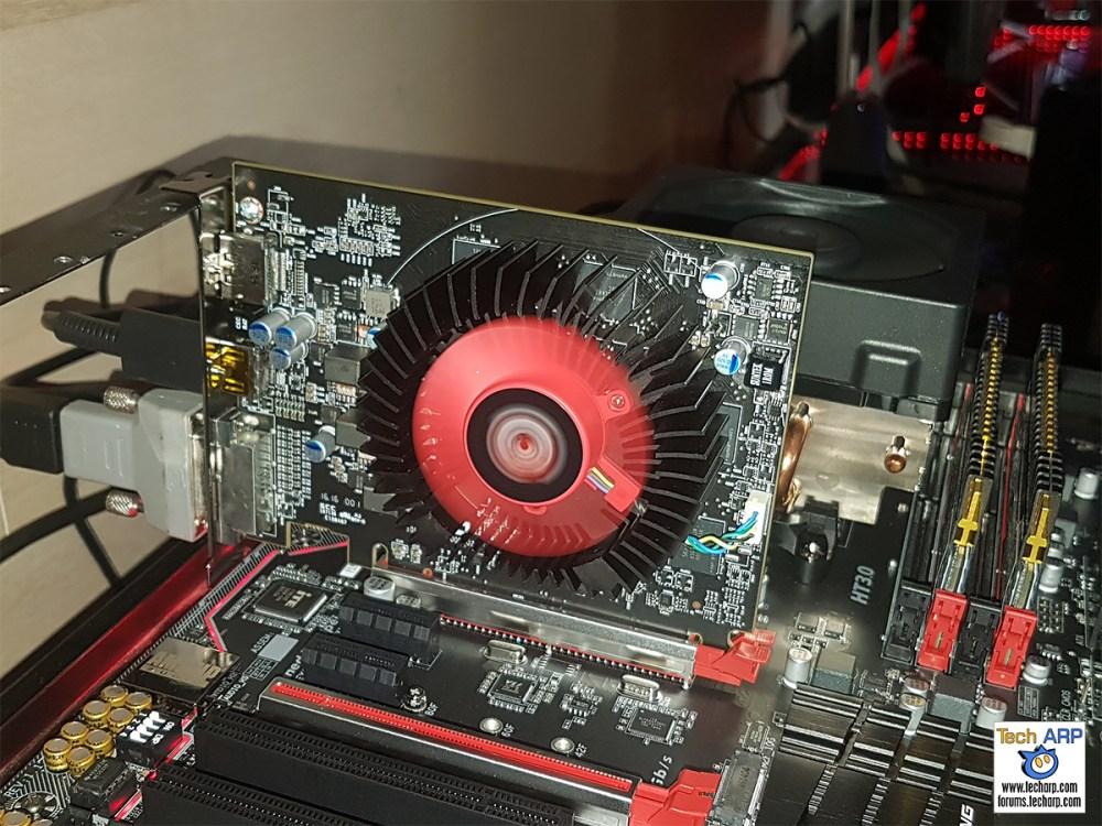 Early Sneak Peek Of The AMD Radeon RX 460
