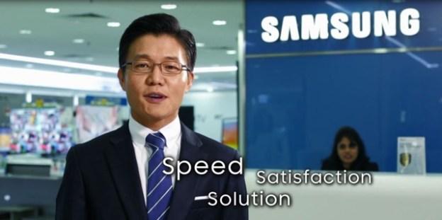 Samsung Customer Service Is Quick & Efficient