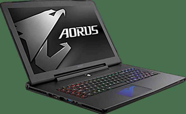 AORUS GeForce GTX 10 Series Laptop Launched