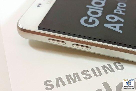 Samsung Galaxy A9 Pro left