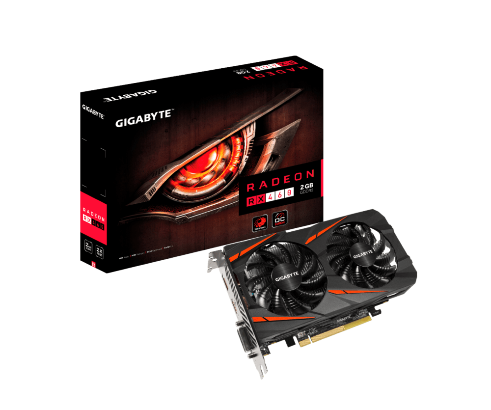GIGABYTE Radeon RX 460 WINDFORCE OC Announced