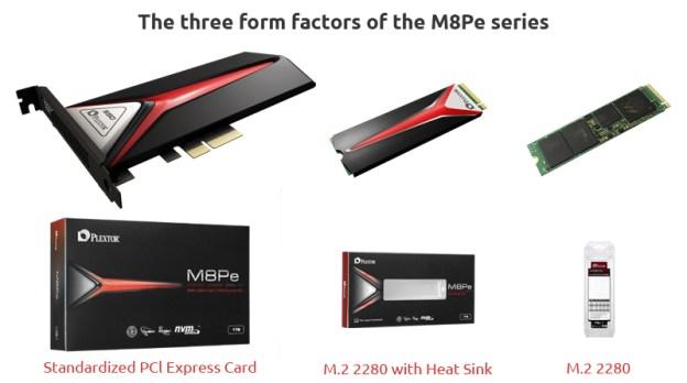 PLEXTOR M8Pe SSD Series Announced
