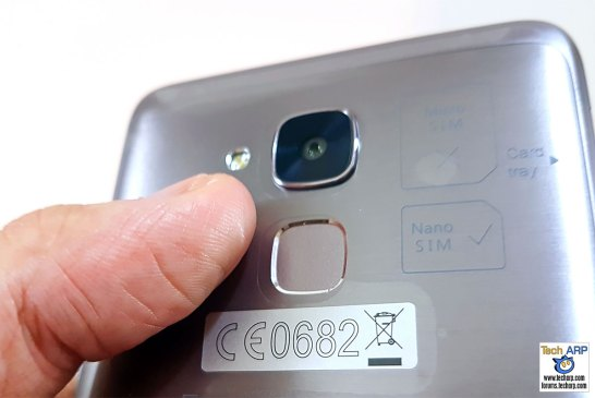 honor 5C fingerprint sensor