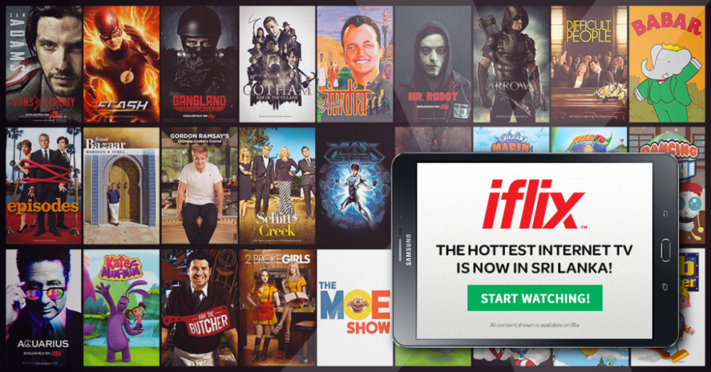 IFLIX Now Available In Sri Lanka