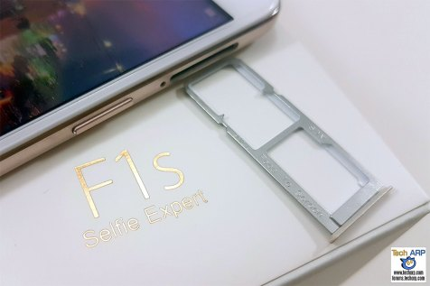 OPPO F1s SIM and microSD card tray