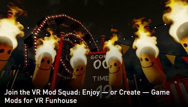 NVIDIA VR Funhouse Mods Capability Announced