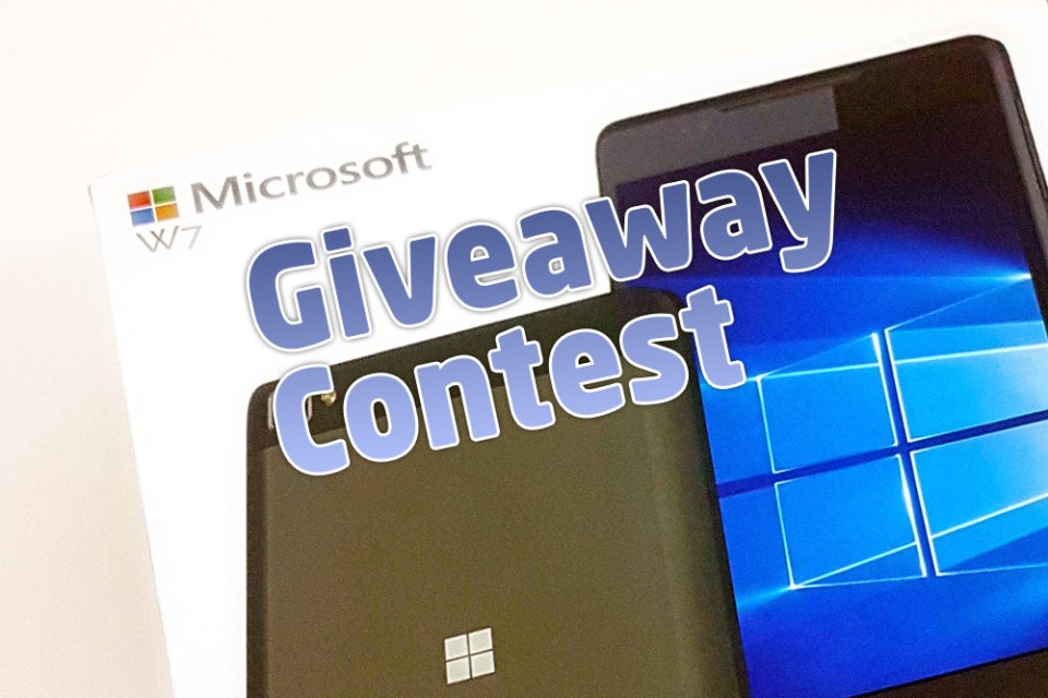 Wise Pad W7 4G LTE Phablet Giveaway Contest