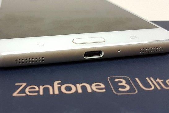 The ASUS ZenFone 3 Ultra bottom