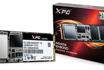 ADATA XPG SX8000 Gaming SSD Launched