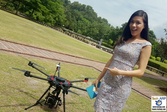 The DJI Matrice 600 Drone Preview & Flight Demonstration